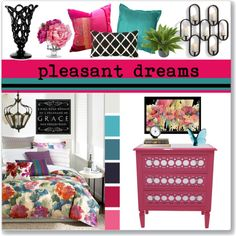 pleasant dreams on Polyvore