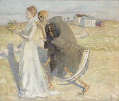 Death and the Maiden, Richard Bergh