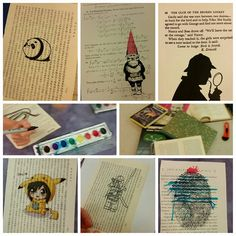 #bookart #craftyteens #teencrafts #bookstagram #upcycle #papercrafts #bookpages