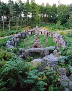 Druids Temple. Masham. England.