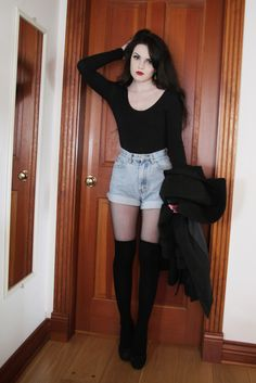 Her blog is called Life In Red Lipstick. I love all her outfits!