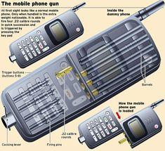 Mobile Phone Gun