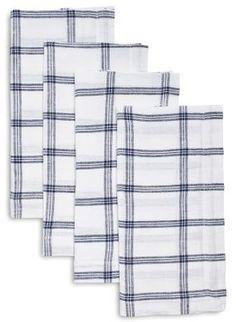 Sur La Table Checkered Linen Napkins Set Of 4 Affiliate