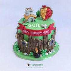 Clash+of+Clan+-+Cake+by+Guilt+Desserts