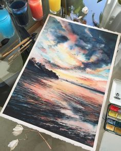 Make Your Art Successful – Create A Story With Your Drawing And Painting – Interesting Decor Painting & Drawing, Watercolor Paintings, Watercolour, Watercolor Artists, Painting Lessons, Abstract Paintings, Oil Paintings, Landscape Paintings, Guache