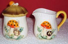 Vintage Merry Mushroom Collection  1976  Sears Roebuck by daddydan