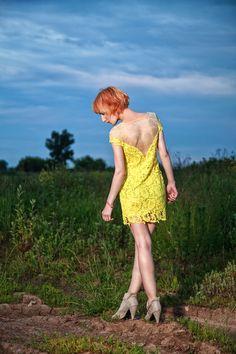Платье из кружева. Заказать можно на сайте anfoxs.com