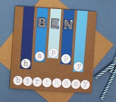 Four Birthday Cards to Make for Boys #birthday #card #boys #male #papercraft #cardmaking