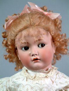 """28"""" Каммер и Рейнхардт 117n 'Майн Либен' кокетливый характер ребенка от kathylibratysantiques на Руби Лейн"""