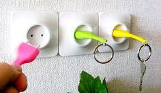 20 Porta-chaves tão criativos que você vai querer ter em casa também