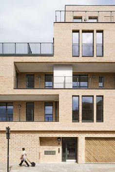 Elmwood Court housing, London, by C.F. Møller Architects