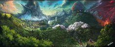 東方風景画の画像 プリ画像