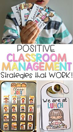 Positive classroom management tools for the primary classroom that your class will respond to and enjoy! Try classroom jobs, transitions and call backs, reward coupons, schedule cards, brain breaks, fast finishers activities, awards, and rules. #classroommanagement #behaviormanagement #classroomawards #bragtags #classroomjobs #brainbreaks #fastfinishers #rewardsforkids