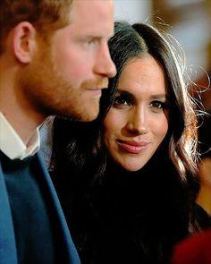 2017/18 - Prince Harry with his fiancé Meghan Markle