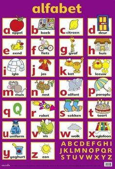 Learning Dutch ABC