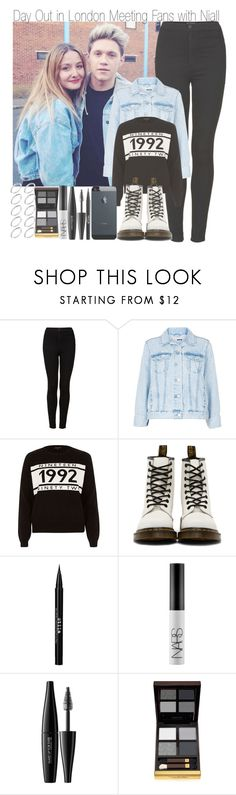 """""""Day Out in London Meeting Fans with Niall"""" by elise-22 ❤ liked on Polyvore featuring Topshop, Black, Dr. Martens, Stila, NARS Cosmetics, MAKE UP FOR EVER, Tom Ford and ASOS"""