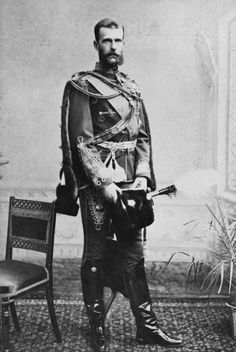 Grand Duke Sergei Alexandrovich of Russia.  He was an influential figure during the reigns of his brother Emperor Alexander III of Russia and his nephew Emperor Nicholas II, who was also his brother in law through Sergei's marriage to Elizabeth the sister of Tsarina Alexandra