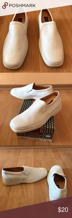 Vikings Casual men's shoes; Color: White; Size 9.5 Vikings Casual men's shoes; Color: White; Size 9.5 Vikings Shoes Loafers & Slip-Ons