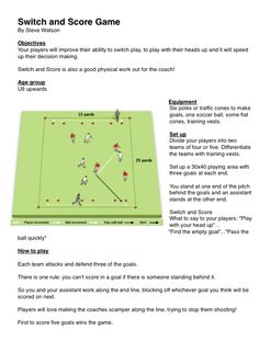 Switch and Score Game