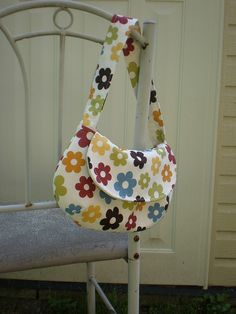 I can't sew like this, but I love this bag!