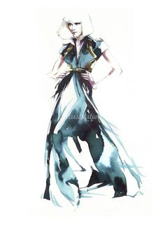 Petra Dufkova (Fashion Illustrator) - Fashion Figure Drawing & Presentation