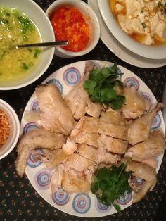 Hainanese Chicken rice for dinner....again!