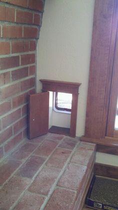 Cat door to match human doors