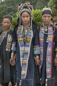 Tribal women, Laos, Asia