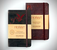 Limited Edition Hobbit Notebooks. Putting aside Moleskine's recent social media faux pas, this seems like the dream gift for the geek in your life.