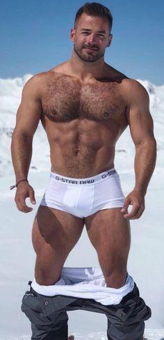 Chlpatý sval Gay porno videá
