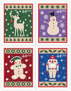 Winter Holidays   Stamp Issue   USA Philatelic
