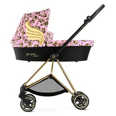 NEW CHERUBS collection! CYBEX by Jeremy Scott Carry Cot on MIOS travel system.