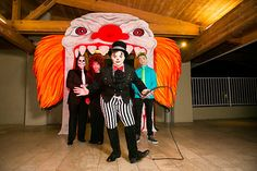 Halloween party - Clown face entry - PC: Shani Barel Design/Planning by DB Creativity