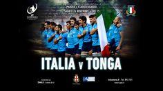 Rugby: Italia VS Tonga - Campagna pubblicitaria