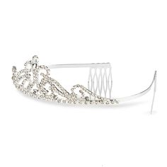 Rhinestone Scroll Tiara