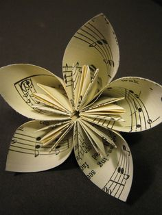 This would be really pretty to make for a music major.