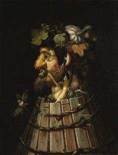 Giuseppe Arcimboldo, AUTUMN, 1572. Denver Art Museum - Painting and Sculpture