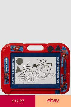 Marvel Spiderman Magnetic Scribbler Etch A Sketch Drawing Doodle Board Spiderman Birthday Cake, Hero Spiderman, Avengers Birthday, Baby Girl Toys, Toys For Girls, American Girl Doll Movies, Pokemon Party Decorations, Ultimate Spider Man, Baby Superhero