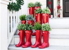#Decoración navideña para exteriores y jardines: Tantas ideas DIY - Contenido seleccionado con la ayuda de http://r4s.to/r4s