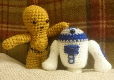 Lucy Collins Star Wars amigurami characters that were made to raise funds for the RAF Benevolent Fund