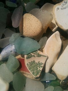 Beach finds from Port Seton and Prestonpans, East Lothian.