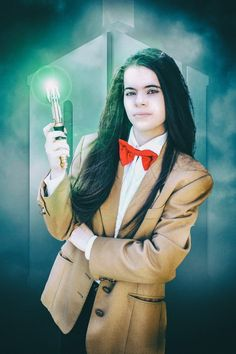 Fem! Eleventh Doctor by @lykoicosplay on tumbrl. Doctor who 💙💙💙