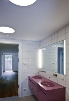 pedit & partner architekten Partner, Bathroom Lighting, Mirror, Interior, Furniture, Home Decor, Architects, Projects, House