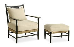 Great company, used to order a lot of this.  Incredible selection of finishes.Abigail Rush Arm Chair and Ottoman