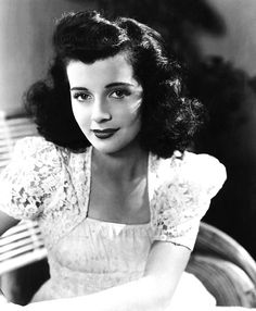 Gail Russell..so pretty, so young, and so sad. born:Sept. 21, 1924 -Chgo. IL. U.S. Film career 1943-1961.. Died: August 26, 1961 at 36 yrs. old..she married the handsome actor Guy Madison in 1949 but by 1950 it was well known that she had become a victim of alcoholism, and Paramount did not renew her contract. See more on comment below...