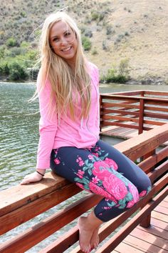 These are the ultimate workout pants from AlbionFit.com. Plus, I love that they're cute enough to wear around, too!