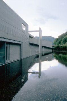 Nariwa Museum, Okayama Prefecture by Tadao Ando Architect