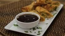 An excellent, traditional sweet and sour sauce. It is great served with meatballs, with tempura, or even over rice!