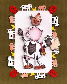Created with Whipper Snapper Stamp Farm Trio Made by Char