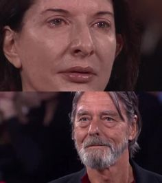 Marina Abramovic and Ullays unexpected visit at MoMA 2010